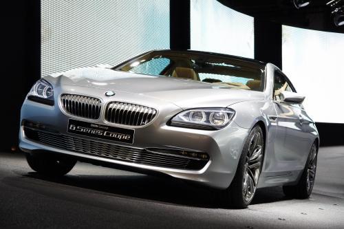 BMW Concept 6 Series Coupe выставлен на Парижском автосалоне