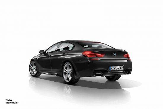 BMW 6-Series Gran Coupe Individual