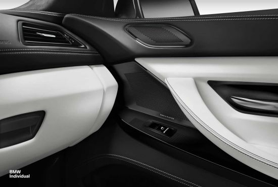 BMW 6-Series Gran Coupe Individual