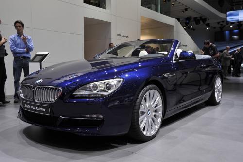 Женева 2011: BMW 650i Convertible