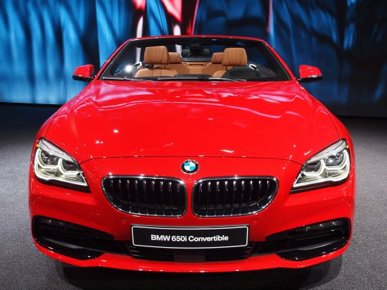 BMW 650i Convertible Detroit