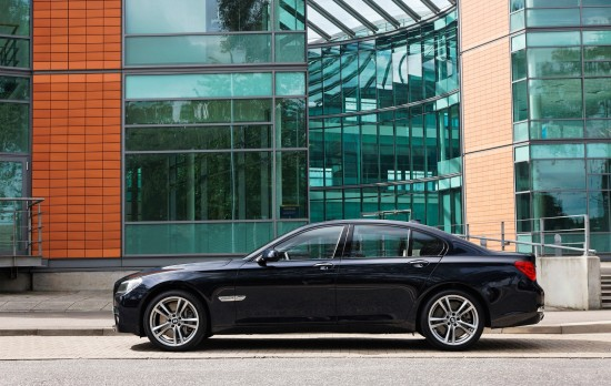 BMW 7 Series 740d and M Sports Package