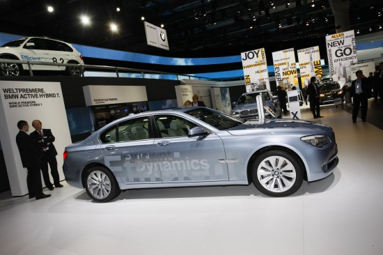 BMW 7-Series EfficientDynamics Frankfurt BMW