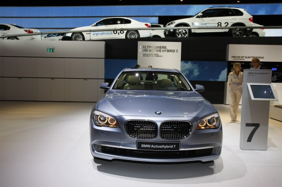 BMW 7-Series EfficientDynamics Frankfurt
