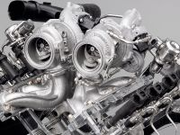 BMW V8 gasoline engine with Twin Turbo and High Precision Injection
