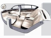 BMW 7 Series, Design Sketch, Nader Faghihzadeh (Interior Design)