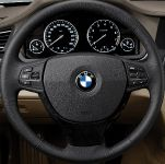 BMW 7 Series, Steering Wheel Operations