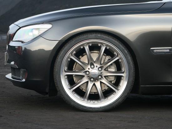 BMW 7 series HARTGE anthracite CLASSIC wheel set