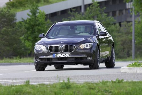 Новый BMW 7 серии High Security