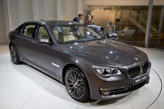 BMW 7-Series Moscow