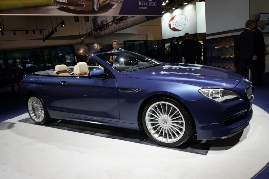 BMW Alpina B6 Bi-Turbo Cabrio Frankfurt