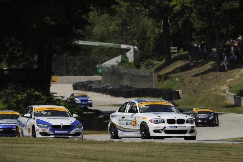 Бертон гонки на BMW 128i - тюнер улице Победы в Роуд Америке