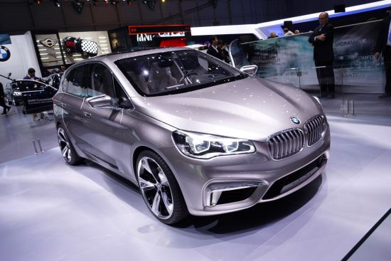 BMW Concept Active Tourer Geneva