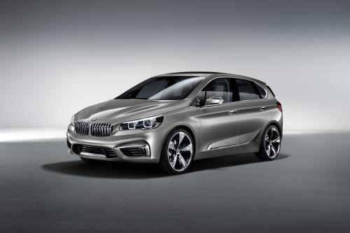 Принципиальная схема BMW Активный Tourer 2013 на нью-йоркском международном автосалоне