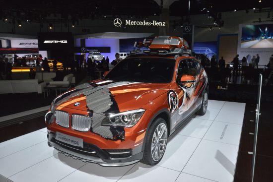 BMW Concept K2 Power Ride Los Angeles