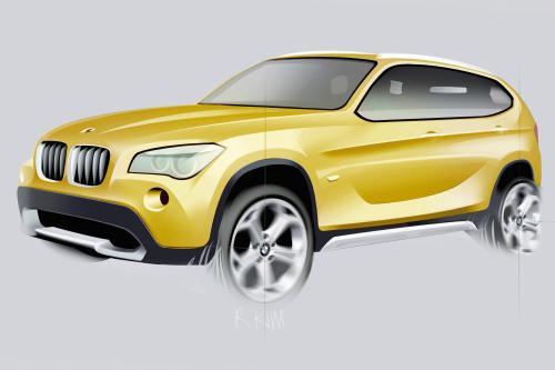 Концепция BMW X1: первый Sports Activity Vehicle в премиальном компактном сегменте - фотография bmw