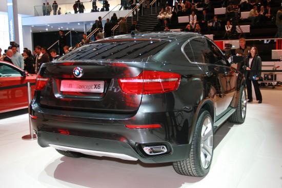 BMW Concept X6 Frankfurt
