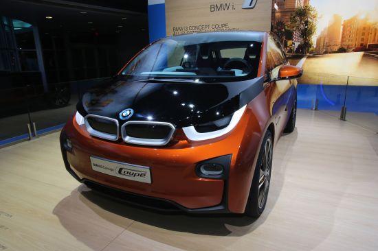 BMW i3 Concept Coupe Detroit