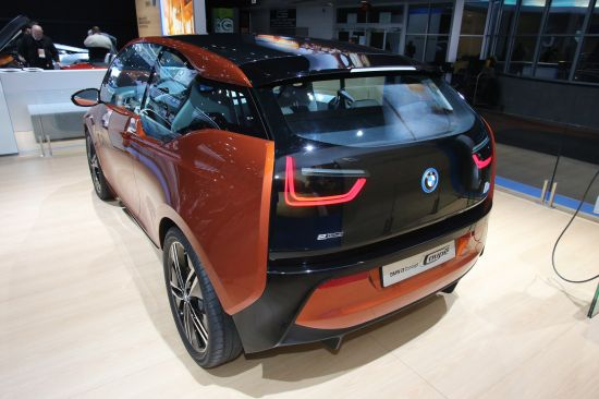 BMW i3 Concept Coupe Detroit