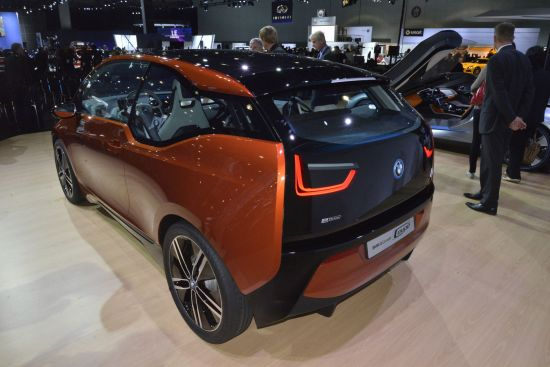 BMW i3 Concept Coupe Los Angeles