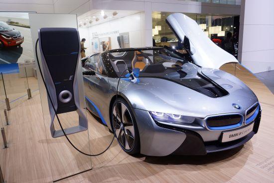 BMW i8 Concept Geneva