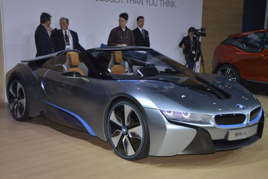 BMW i8 Concept Los Angeles