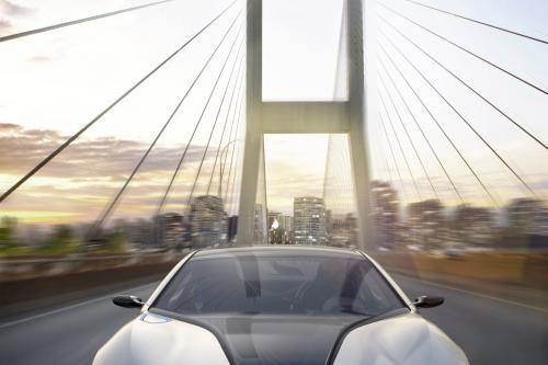 BMW i8 Concept фотографии с Женевского автосалона