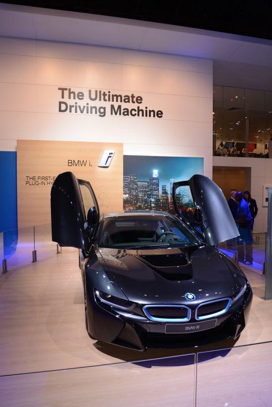 BMW i8 Detroit