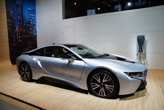 BMW i8 Paris