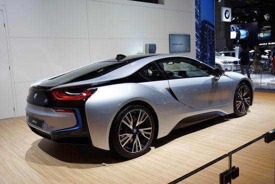 BMW i8 Paris