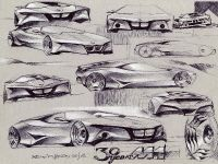 BMW M1 Homage - scetches