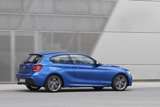 BMW M135i three-door