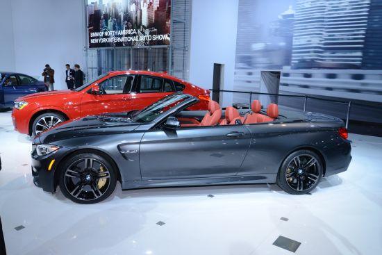 BMW M4 Convertible New York