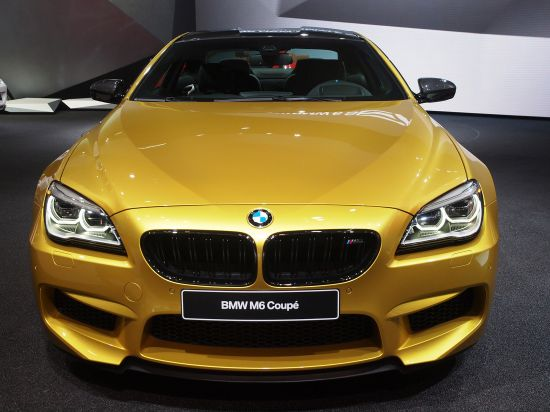 BMW M6 Coupe Detroit