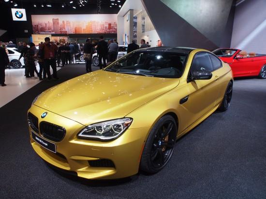 BMW M6 Coupe Detroit