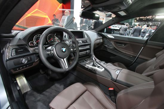 BMW M6 Gran Coupe Detroit