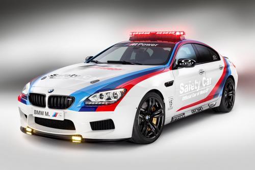 BMW ///M6 Gran Coupe MotoGP безопасности автомобиля