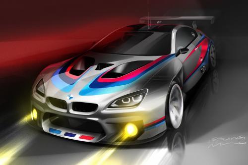 Дразнит БМВ М6 в чемпионате GT3 гонщик