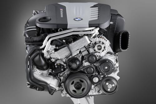 BMW ///M Performance TwinPower Turbo двигатель с шестью цилиндрами Дизель - N57S