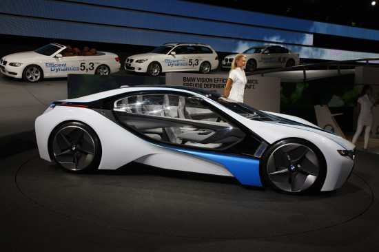 BMW Vision EfficientDynamics Frankfurt
