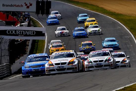BMW WTCC Brands Hatch GB