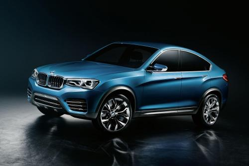 BMW X4 Concept [утечка изображений]