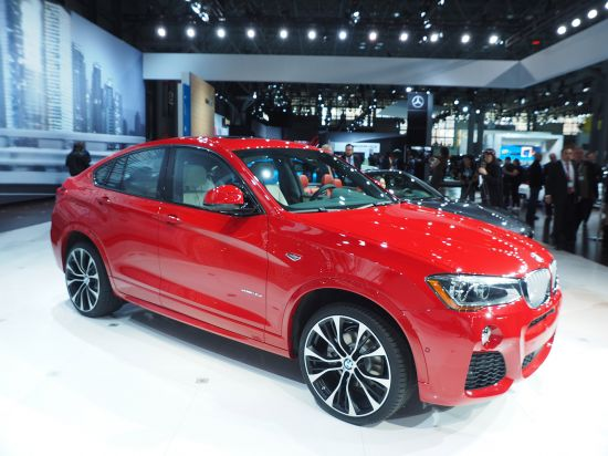 BMW X4 New York