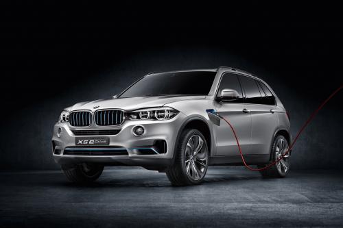 BMW X5 модуля привода edrive Concept - 3.8 л / 100 км