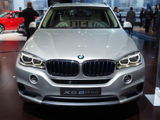 BMW X5 eDrive New York