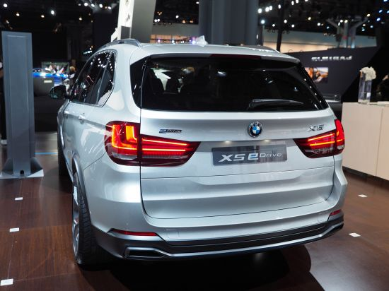 BMW X5 eDrive New York