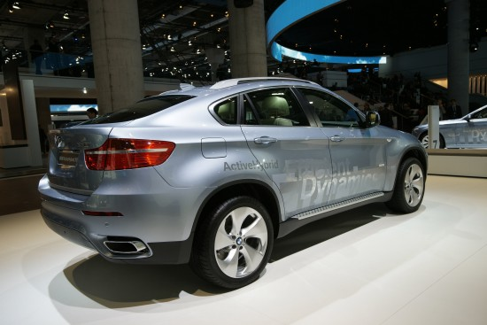 BMW X6 EfficientDynamics Frankfurt