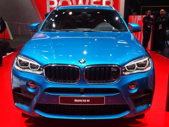 BMW X6 M Detroit