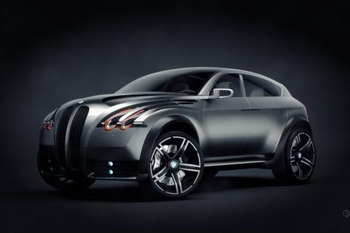 BMW XS концепции визуализации