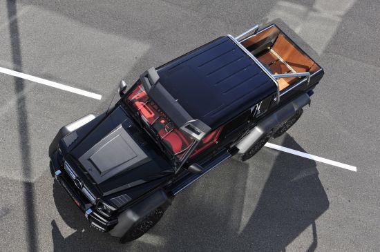 Brabus B63S Mercedes-Benz G-Class 6x6